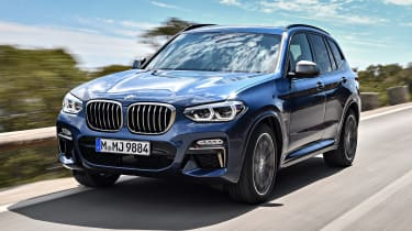 BMW X3 M40i - front