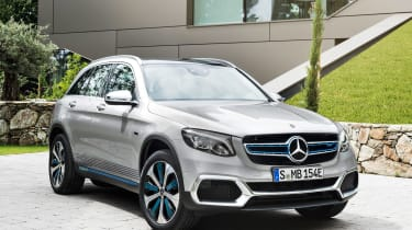 Mercedes GLC F-Cell - front static