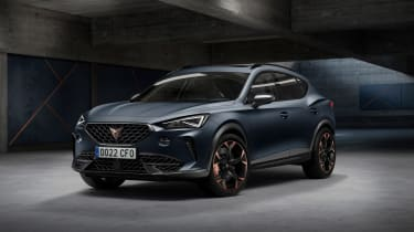 The first car to sit exclusively under SEAT's Cupra performance brand will be the Formentor. It's a performance SUV with a plug-in hybrid option.