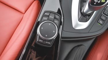 BMW iDRIVE - dial controls