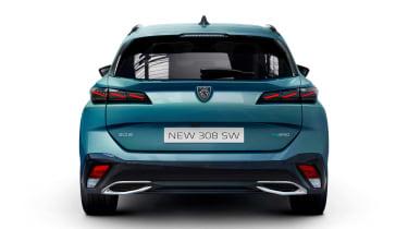 Peugeot 308 SW - full rear studio