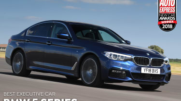 BMW 5 Series - Executive Car of the Year 2018