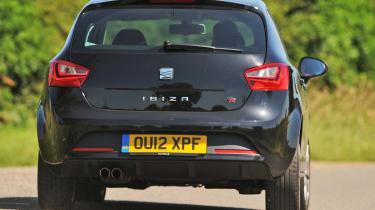 SEAT Ibiza FR rear cornering