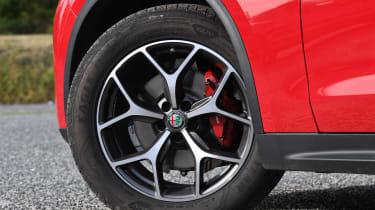 alfa romeo stelvio alloy wheel