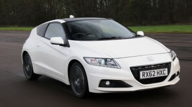 The Honda CR-Z is the world's first hybrid sports car.
