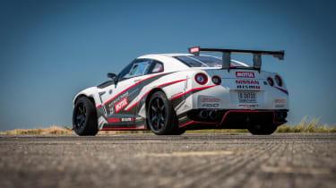 Nissan GT-R 1,390bhp drift car - rear quarter