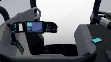 Renault EZ-Pro - interior