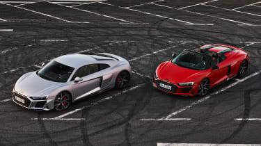 Audi R8 RWD - range front