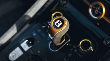 Bentley Bacalar - gear lever