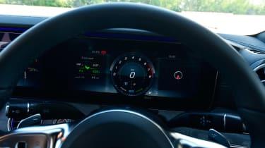 Mercedes CLS 450 - dials