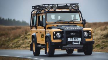 Land Rover Defender Works V8 Trophy - front