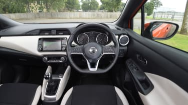 Long term Nissan Micra - second report - interior