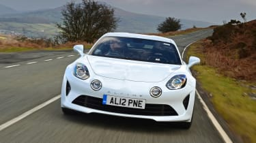 Alpine A110 Pure - full front