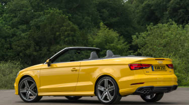 Audi A3 Cabriolet - rear roof down