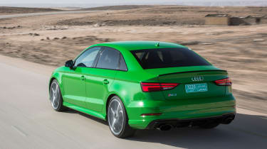 Audi RS3 Saloon 2017 - rear tracking