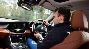 Long term review - Alfa Romeo Giulia - Batch driving