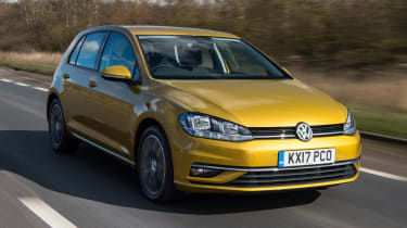 Volkswagen Golf - best cars for less than £10 per day