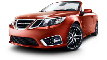 Saab 9-3 Convertible Independence Edition front