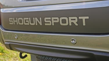 Mitsubishi Shogun Sport SVP Concept - rear detail