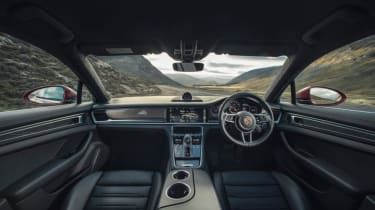 Porsche Panamera Turbo interior - Footballers' cars