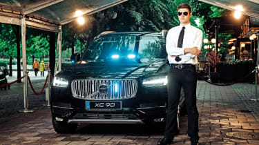 Armoured Volvo XC90 feature