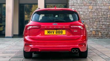Ford Focus Estate - full rear