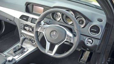 Mercedes C220 CDI Sport interior