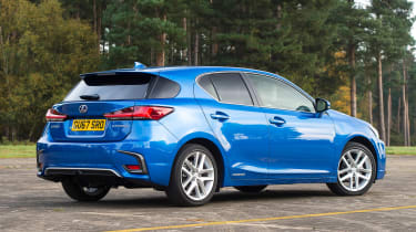 Lexus CT 200h - rear static
