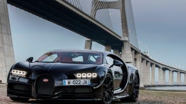 Bugatti Chiron - front bridge