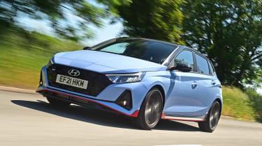 Hyundai i20N - N/S tracking