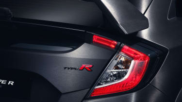 New Honda Civic Type-R details rear