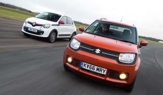 Suzuki Ignis vs Renault Twingo - header