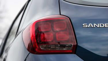Dacia Sandero facelift - rear light detail