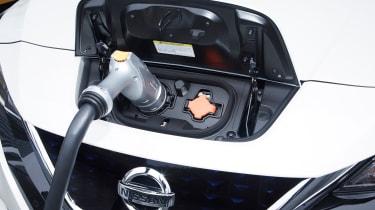 2017 Nissan Leaf - charging