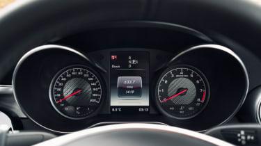 Mercedes C63 AMG saloon - dials