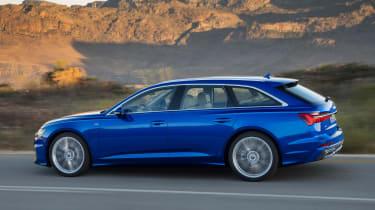 Audi A6 Avant - side