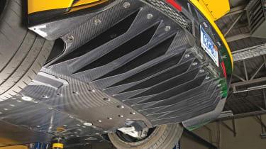 Ford GT - underneath