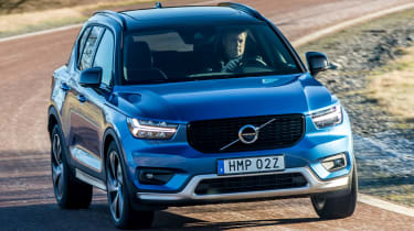 Volvo XC40 T5 Twin Engine - front action