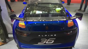 Alpine A110 GT4 rear end