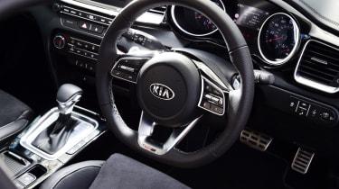 Kia Ceed GT-Line S long termer - steering wheel