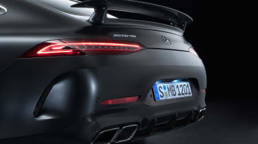 MercedesA-AMG GT four-door Coupe - tailgate
