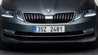 New 2017 Skoda Octavia facelift grille