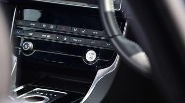 Jaguar XE Long term test - starter button