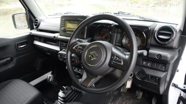 Suzuki Jimny Commercial - interior