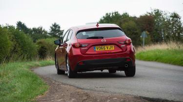 Mazda 3 - rear action