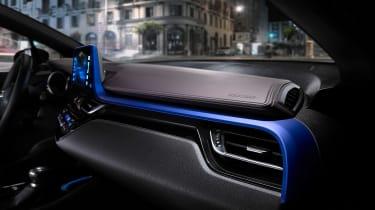 Toyota C-HR - interior blue