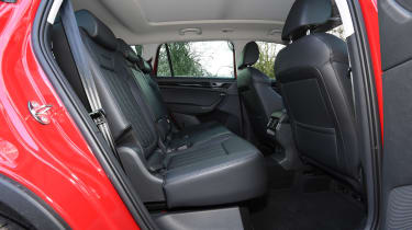 skoda kodiaq l&k rear seats middle row
