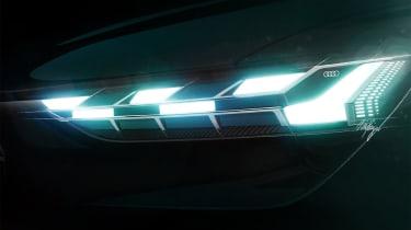 Audi Q4 e-tron concept - headlight sketch