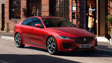 Jaguar XE - front red