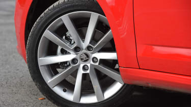 Skoda Octavia Estate 1.5 TSI - wheel